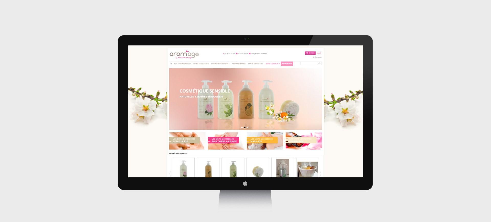 creation site web huile essentielle