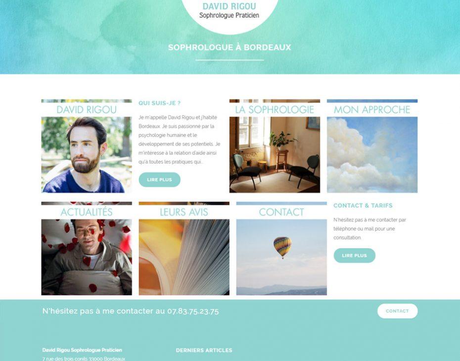 creation site internet sophrologie