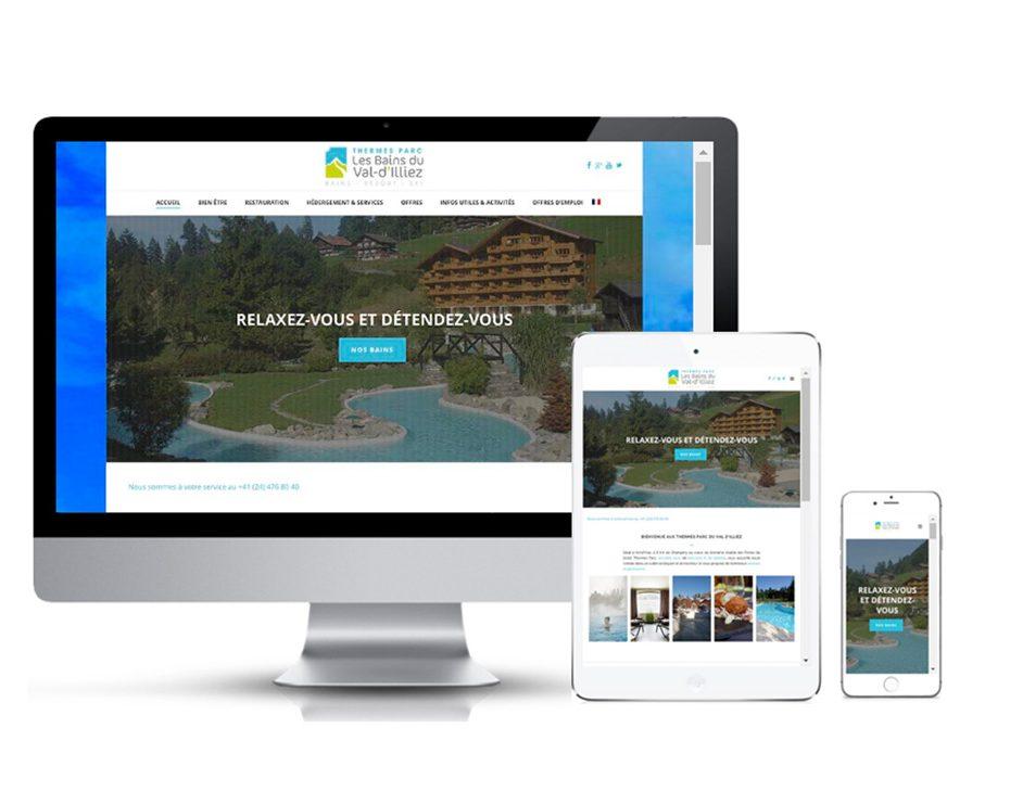 site web responsive suisse