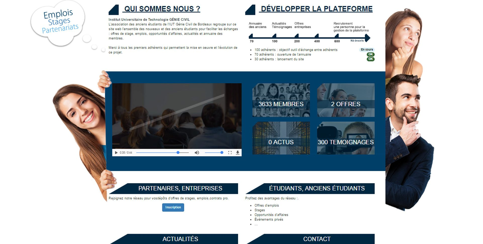 webdesign maquette site