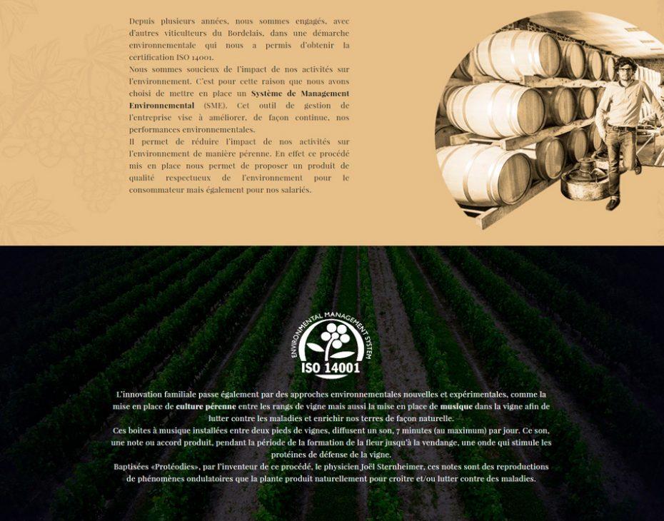 site internet negociant vin