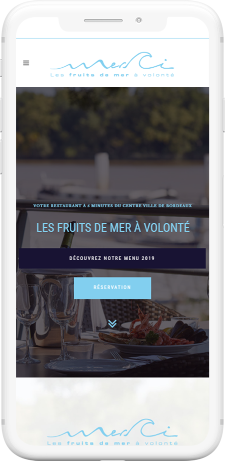 web mobile restaurant