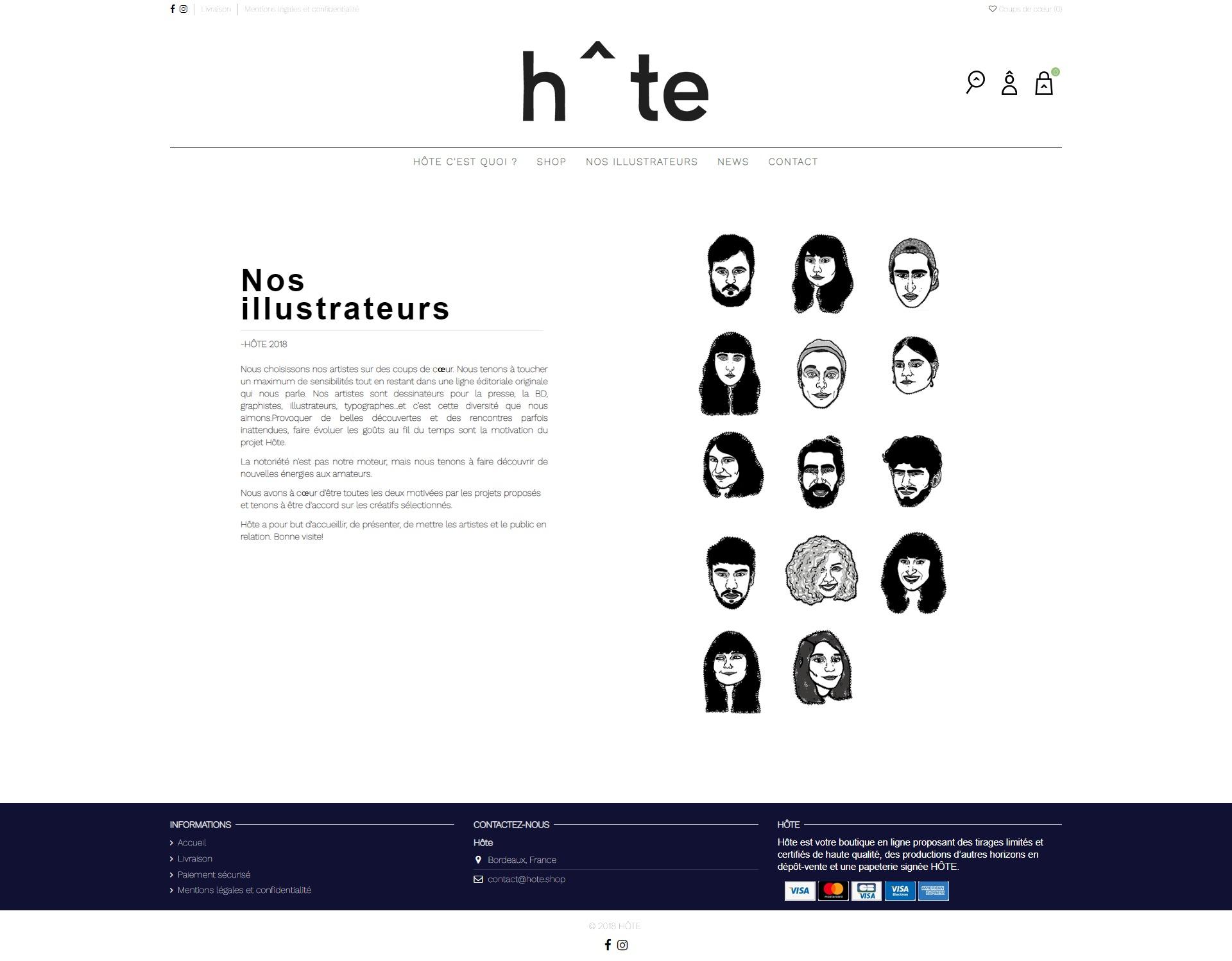 realisation site ecommerce bordeaux