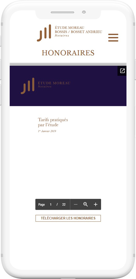 site mobile notaires