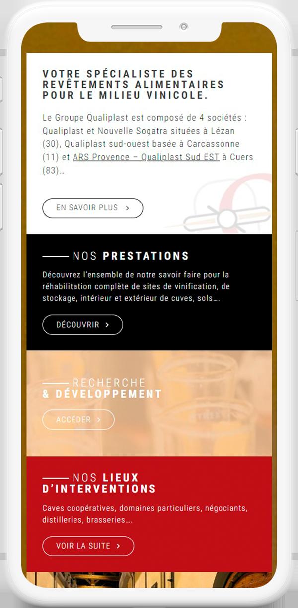 site web responsive bordeaux